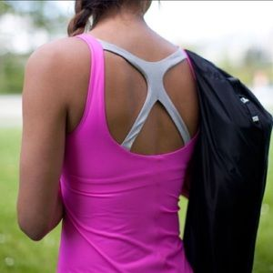 Lululemon Optimal Tank in Power Pink